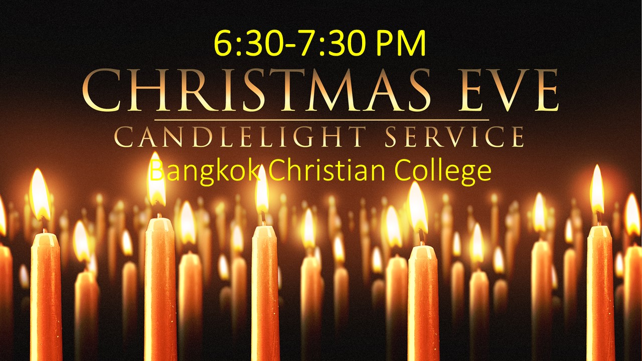 Christmas Eve Candlelight Service 2018
